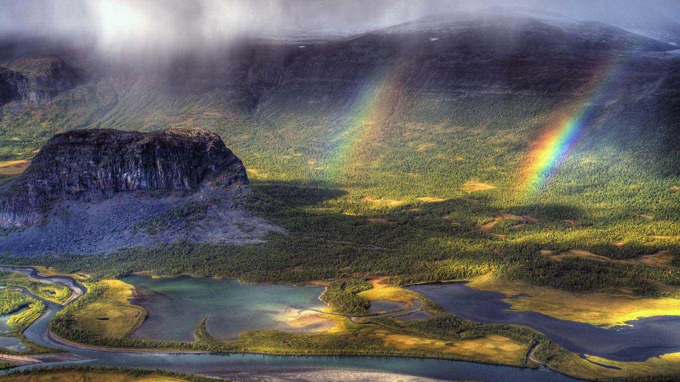 Bức tranh thiên nhiên thật rộng lớn khi chụp từ góc độ cao