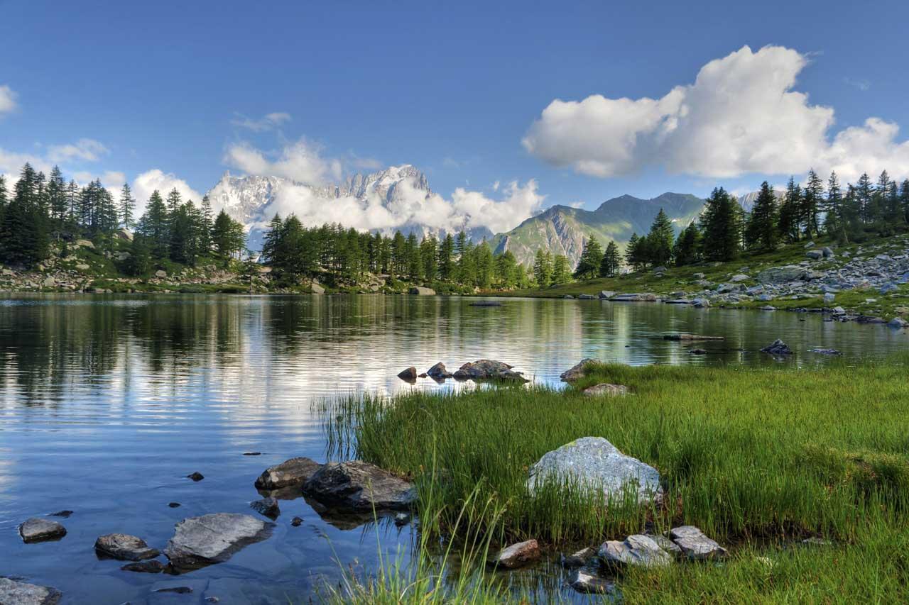 Một bức tranh phong cảnh thiên nhiên thật yên bình