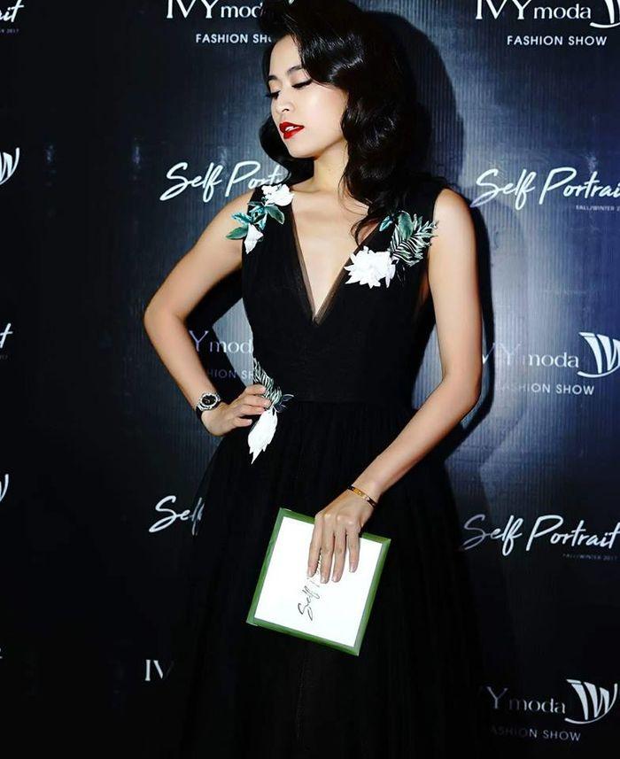 Hoàng Thùy Linh còn là một nữ MC xinh đẹp