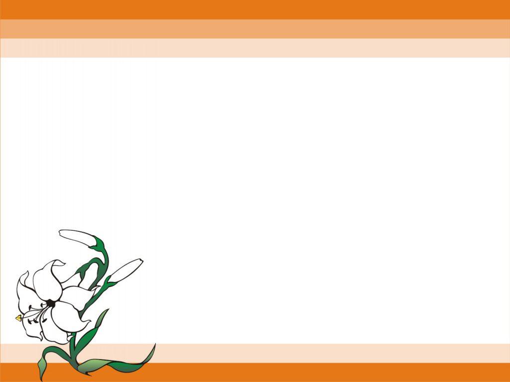 Hình nền slide thuyết trình đẹp - dòng màu cam nhẹ nhàng