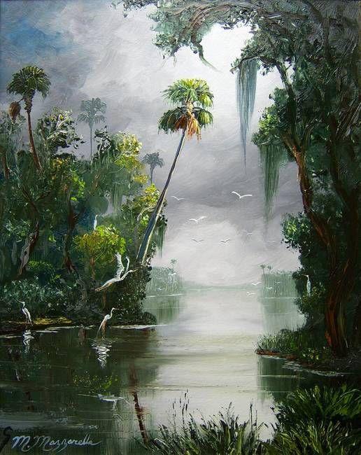 Tranh sơn dầu phong cảnh treo tường thiên nhiên đẹp