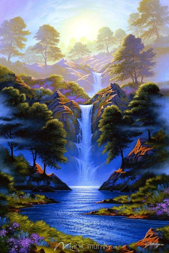 Tranh phong cảnh treo tường thiên nhiên đẹp