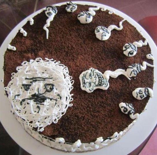 Hình bánh sinh nhật bựa bá đạo