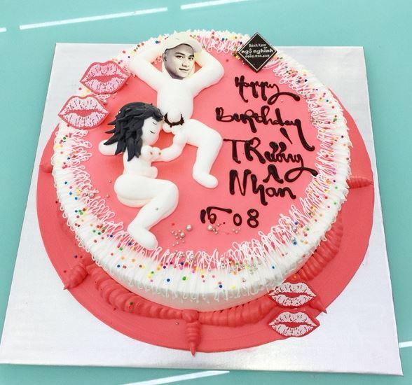 Hình bánh sinh nhật bựa troll