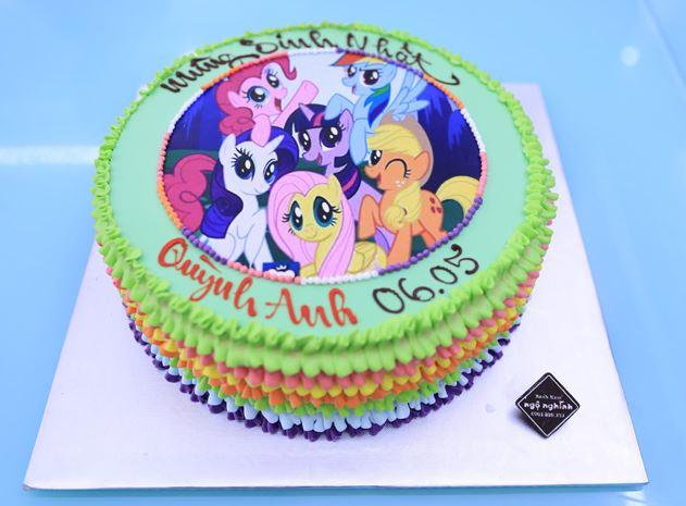 ảnh bánh sinh nhật công chúa cho bé gái