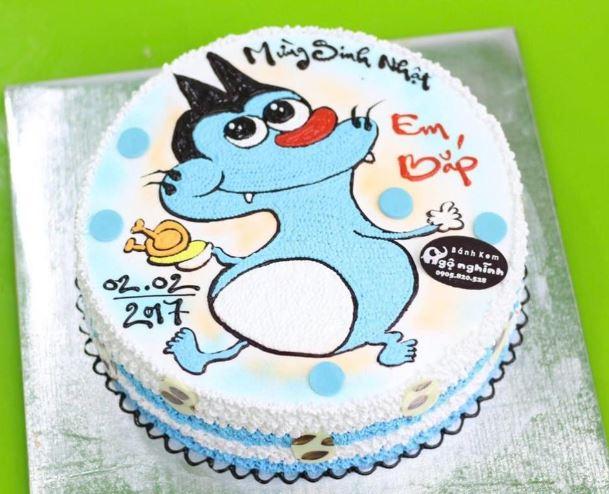 Hình ảnh bánh sinh nhật cho bé gái