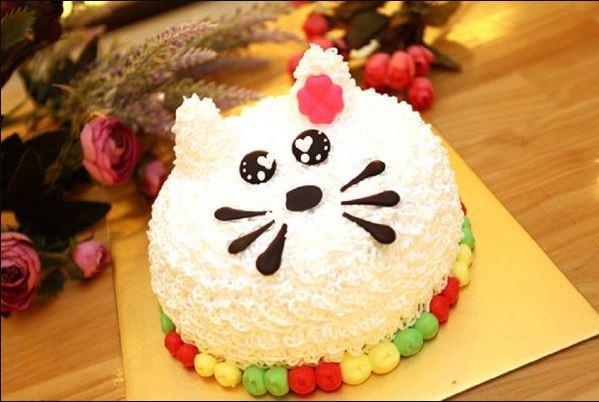 Hình ảnh bánh sinh nhật dễ thương