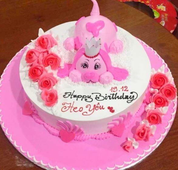Hình ảnh bánh sinh nhật dễ thương nhất