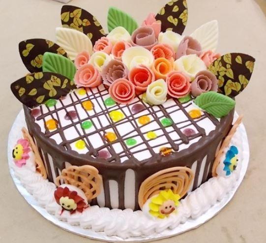 Hình ảnh bánh sinh nhật dễ thương đơn gian nhất thế giới
