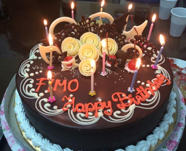 Ảnh bánh sinh nhật dễ thương bình dị nhất