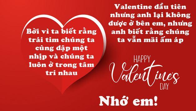 Lời chúc Valentine 14-2 cho người yêu