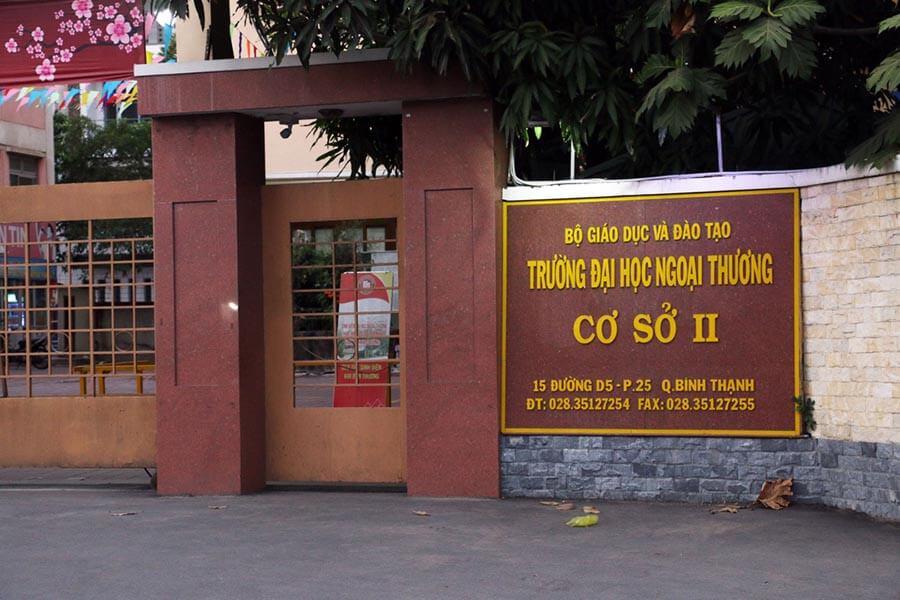 Trường Đại học Ngoại Thương TP. Hồ Chí Minh