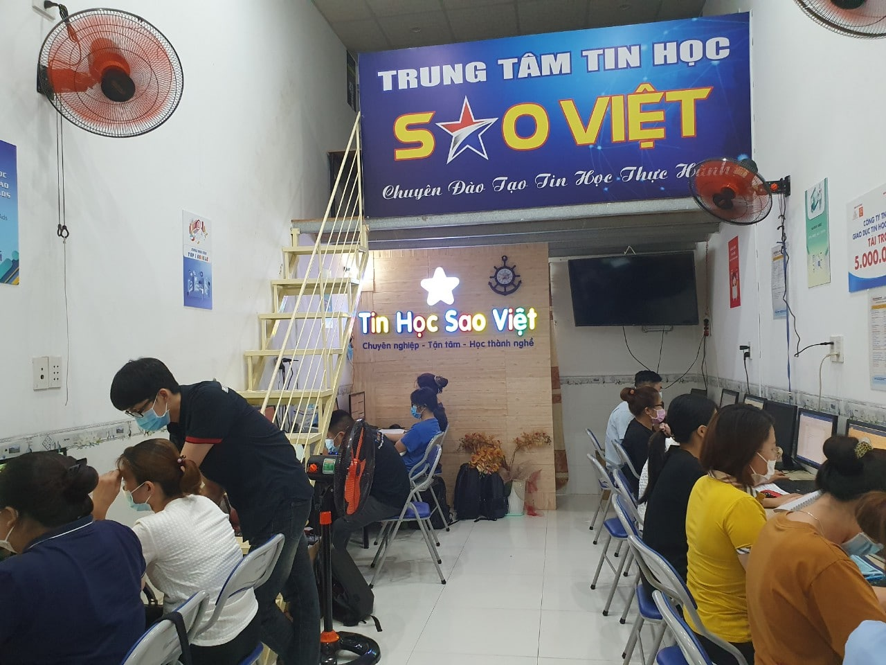 Trung tâm Tin học Sao Việt Hà Nội